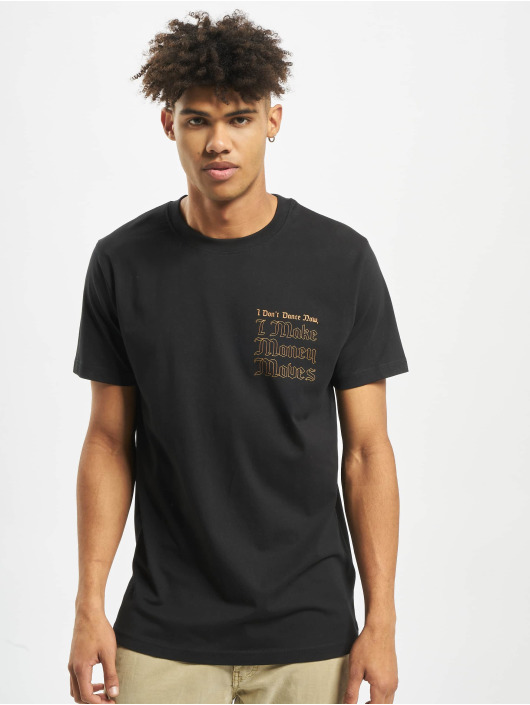 Mister Tee T-Shirt Money Moves noir
