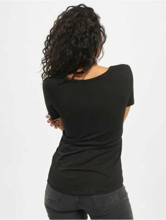 Mister Tee T-Shirt Stranger Girl noir