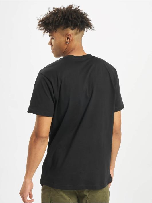 Mister Tee T-Shirt Fuck Off Flames noir