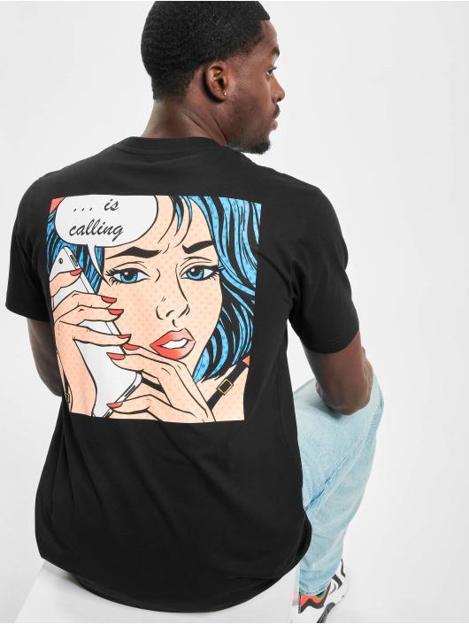 Mister Tee T-Shirt Late Night Love noir
