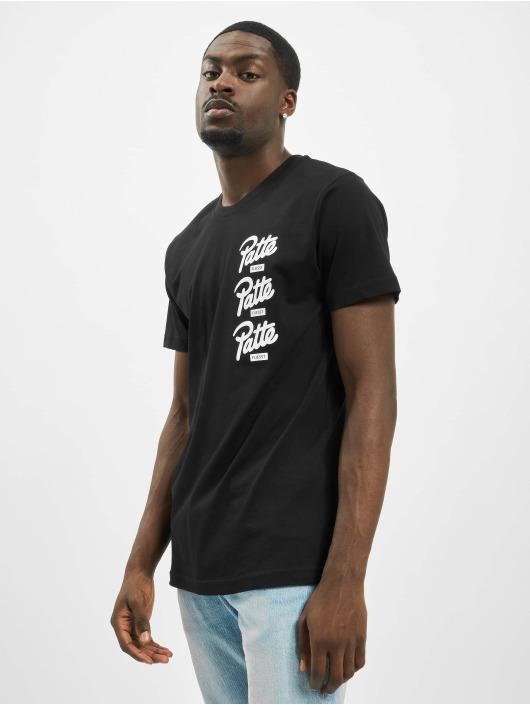 Mister Tee T-Shirt Patte noir