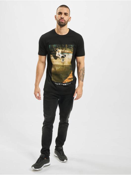 Mister Tee T-Shirt Fuck You & Skate noir