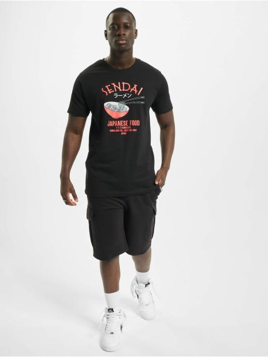 Mister Tee T-Shirt Sendai Ramen 2 noir