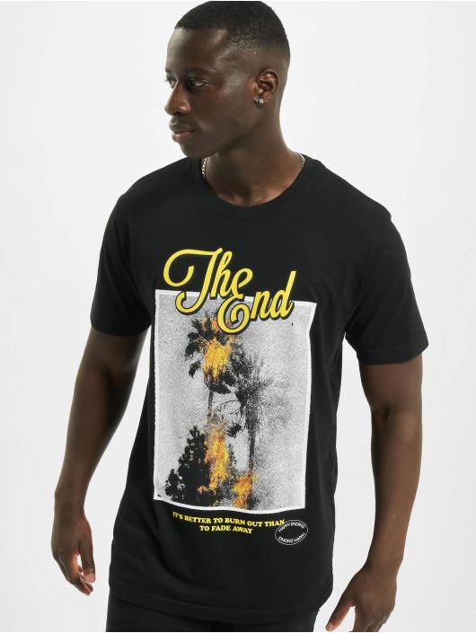 Mister Tee T-Shirt The End noir