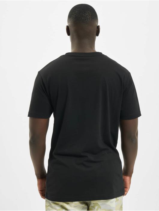 Mister Tee T-Shirt Burning Car noir