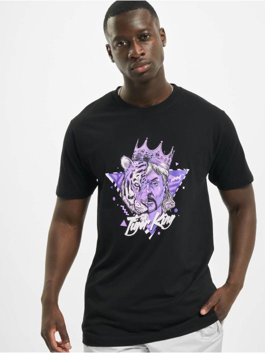 Mister Tee T-Shirt Big Cats noir