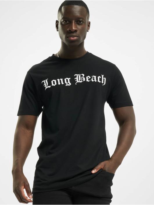 Mister Tee T-Shirt Long Beach noir