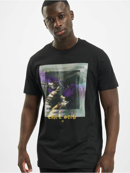 Mister Tee T-Shirt Unstoppable Horse noir