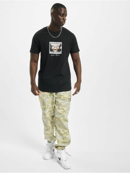 Mister Tee T-Shirt Bad Boy Handcuffs noir