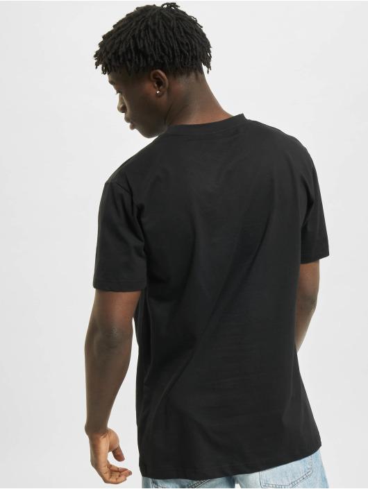 Mister Tee T-Shirt Pizza Plant noir