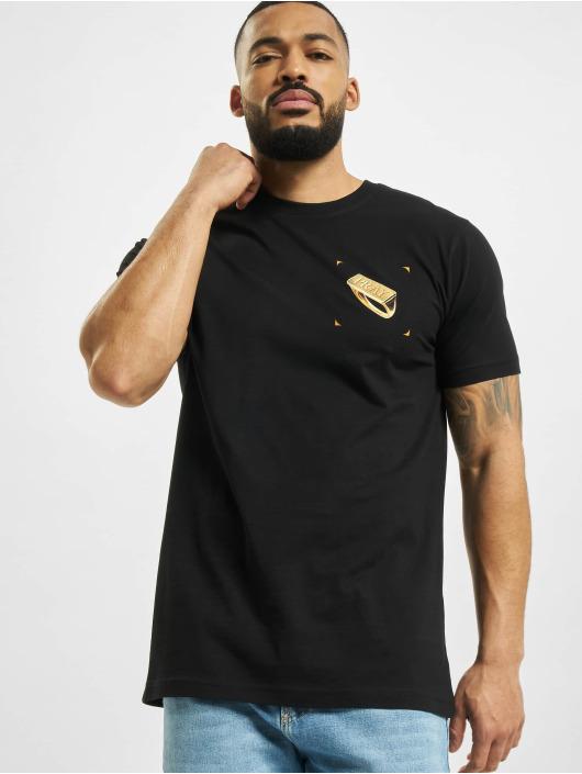 Mister Tee T-Shirt Pray Ring noir