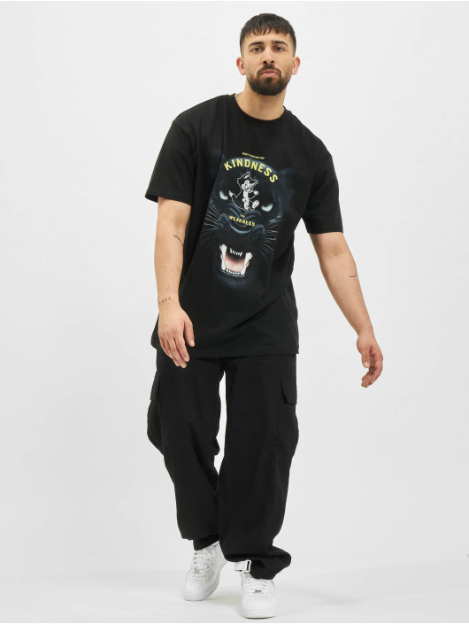 Mister Tee T-Shirt Kindness No Weakness Oversize noir
