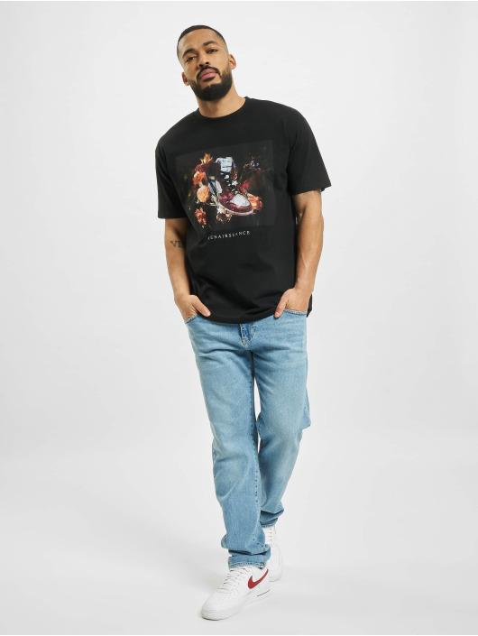 Mister Tee T-Shirt Renairssance Painting Oversize noir