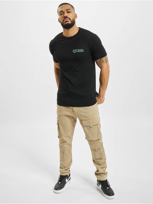 Mister Tee T-Shirt Stay Weird noir