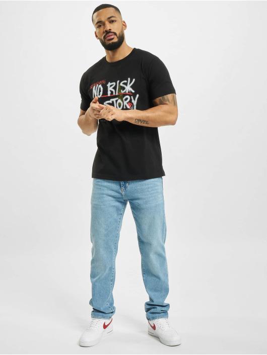Mister Tee T-Shirt No Risk No Story noir