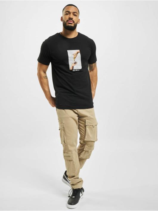 Mister Tee T-Shirt God Given Pizza noir