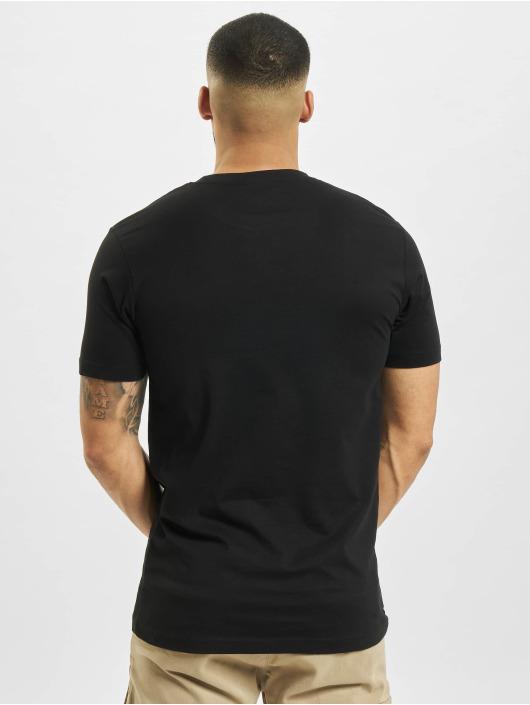 Mister Tee T-Shirt Rose Love noir
