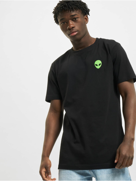 Mister Tee T-Shirt Alien Icon noir