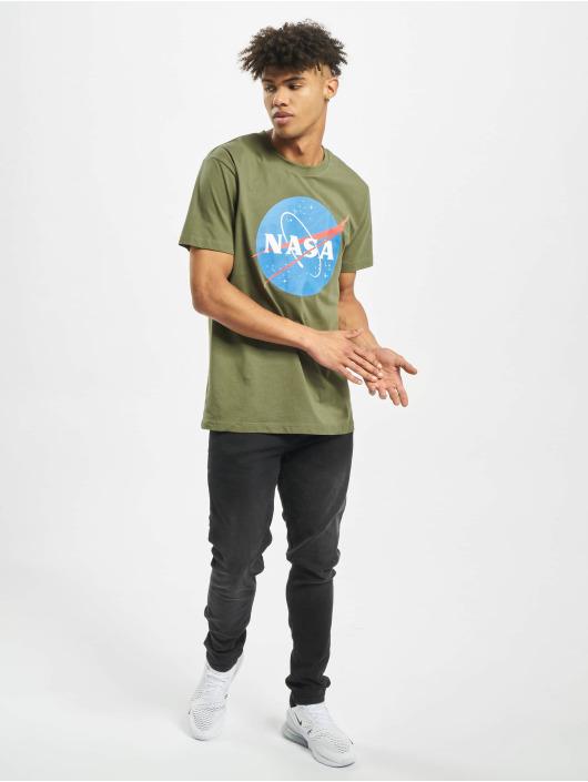 Mister Tee T-shirt NASA oliv