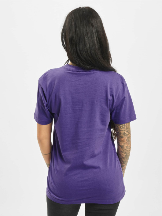 Mister Tee T-Shirt Never On Time purple