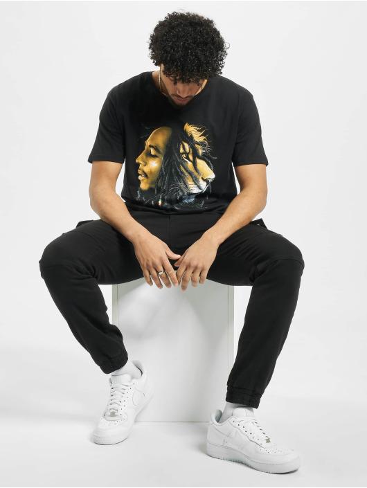 Mister Tee T-Shirt Bob Marley Lion schwarz