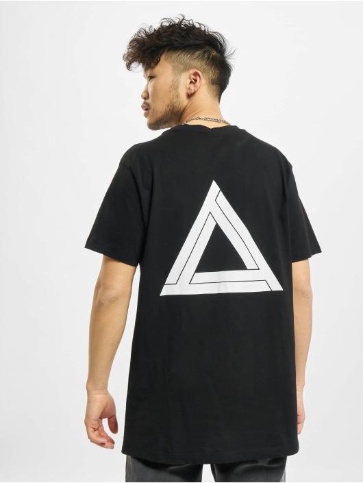 Mister Tee T-Shirt Triangle schwarz