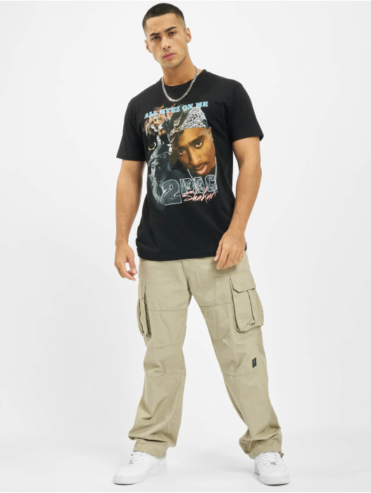 Mister Tee T-Shirt Tupac Retro schwarz