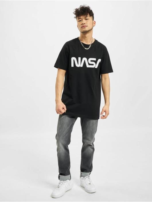 Mister Tee T-Shirt NASA Worm schwarz