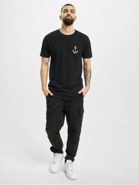 Mister Tee T-Shirt Captain schwarz