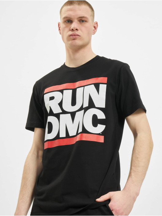 Mister Tee T-Shirt Run DMC Logo schwarz
