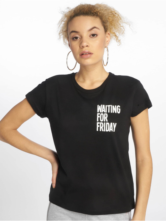 Mister Tee T-Shirt Waiting For Friday schwarz