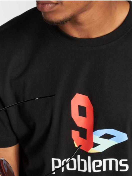 Mister Tee T-Shirt 99 Plys schwarz