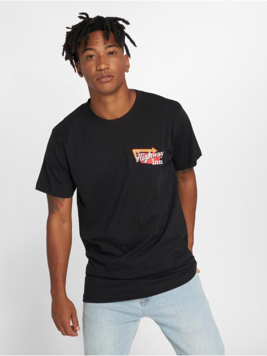 Mister Tee T-Shirt Highway Inn schwarz