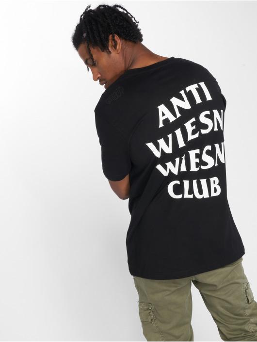 Mister Tee T-Shirt Wiesn Club schwarz