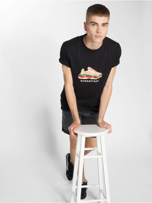 Mister Tee T-Shirt Burgaciaga schwarz