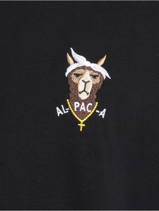 Mister Tee T-Shirt Alpaca schwarz