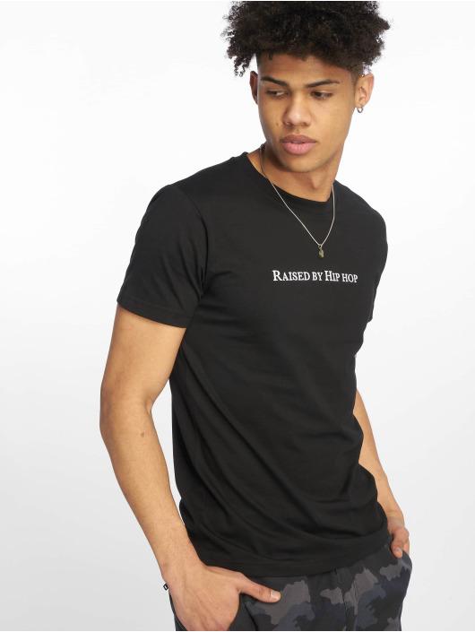 Mister Tee T-Shirt Raised By Hip Hop schwarz