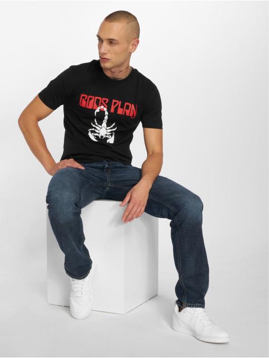 Mister Tee T-Shirt Gods Plan schwarz