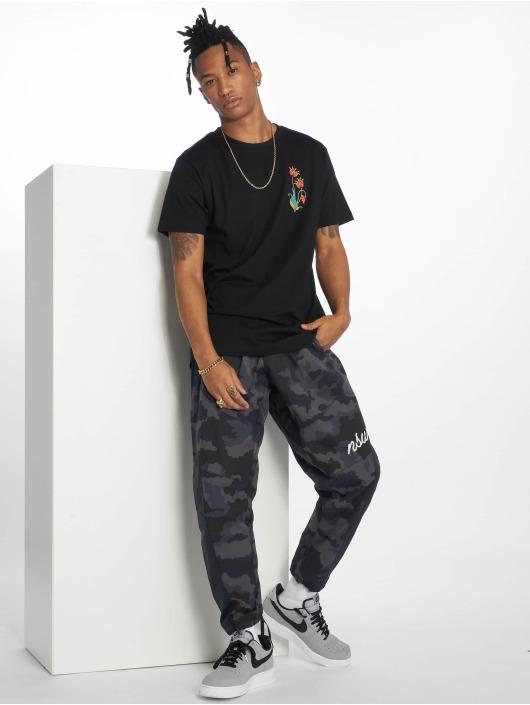 Mister Tee T-Shirt Love & Respect schwarz
