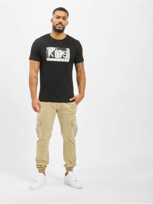 Mister Tee T-Shirt Kiss Treats schwarz