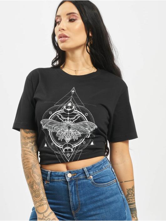 Mister Tee T-Shirt Moth schwarz