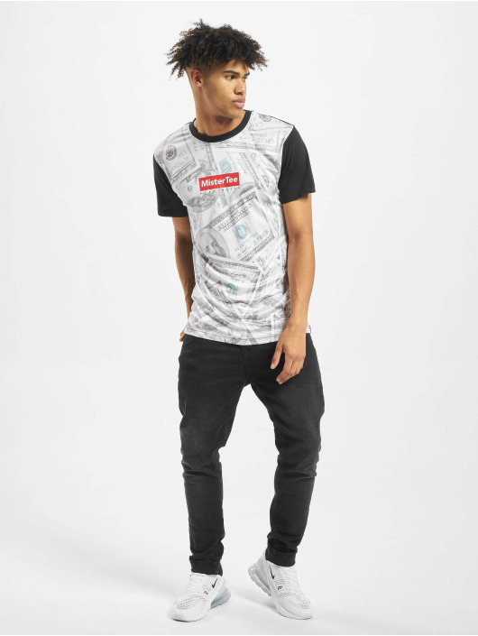 Mister Tee T-Shirt Dollar Sublimation schwarz