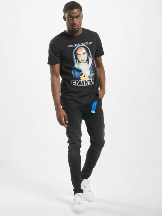 Mister Tee T-Shirt Eminem Hooded Show schwarz