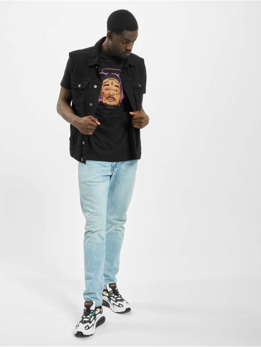 Mister Tee T-Shirt Lil Uzi Vert Face schwarz