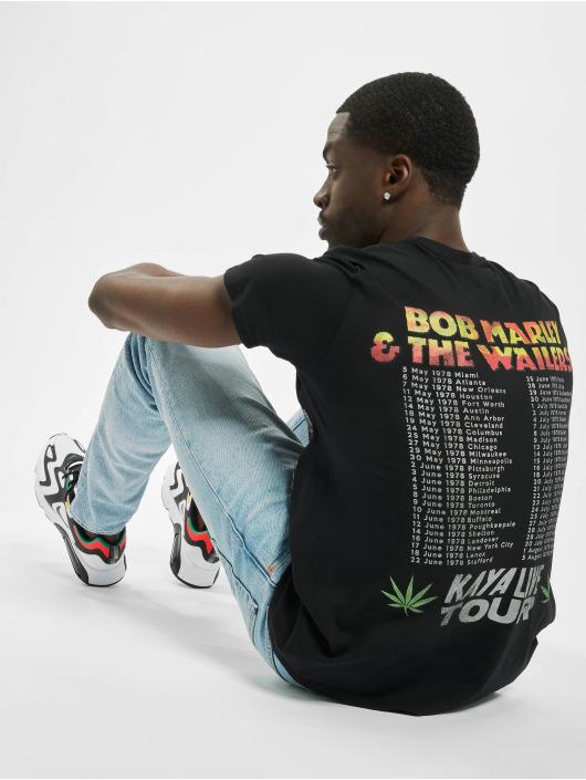 Mister Tee T-Shirt Bob Marley Kaya Live Tour schwarz