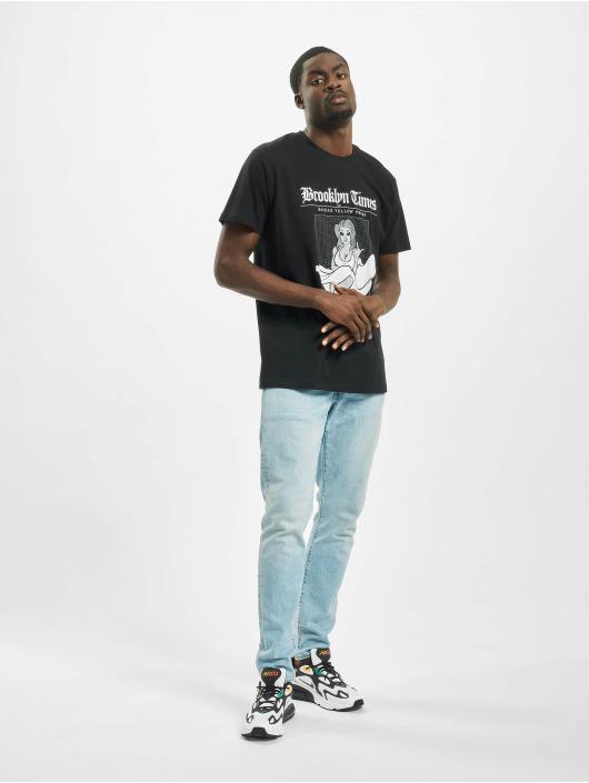 Mister Tee T-Shirt Brooklyn Times schwarz