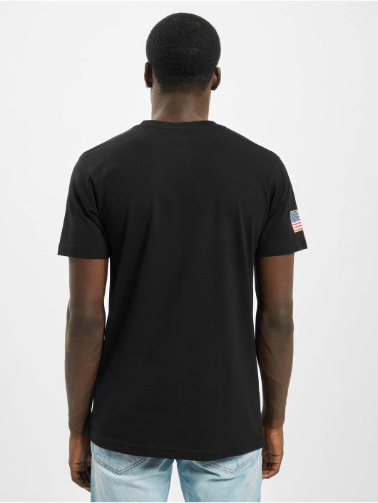 Mister Tee T-Shirt Nasa Retro Insignia Logo schwarz