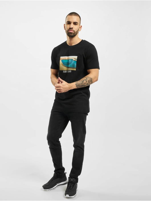 Mister Tee T-Shirt Surf Is Dead schwarz