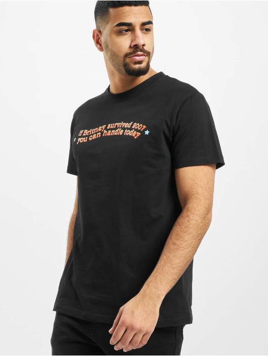 Mister Tee T-Shirt Handle Today schwarz