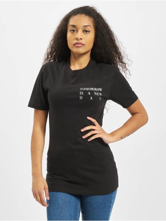 Mister Tee T-Shirt Ladies New Day schwarz
